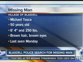 Missing Blasdell man located by police