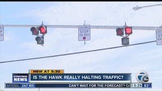 Concerns about the HAWK not halting traffic