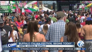 Italian Heritage Festival starts Thursday