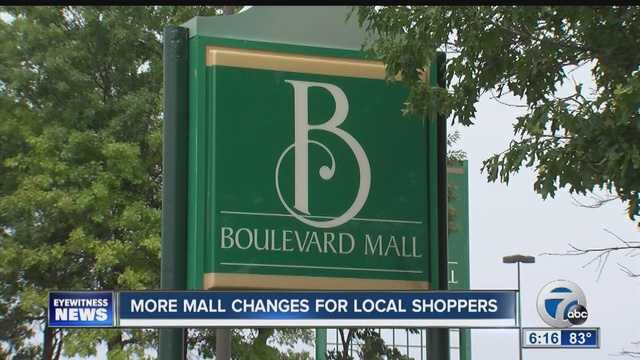 boulevard mall in amherst is up for sale