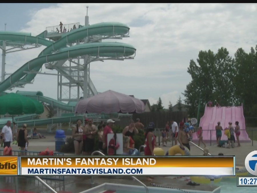 martin u0026 39 s fantasy island  water park and car show