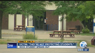 Alleged NCCC sex abuse victim speaks out