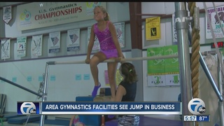 Gymnastics centers seeing boost in business