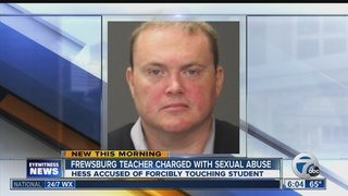 Frewsburg teacher charged with sexual abuse