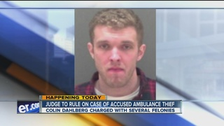 SUNY student accused of stealing ambulance