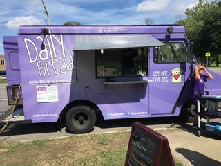 Local church uses food truck to help the needy