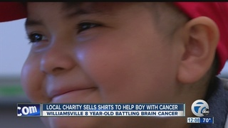 Local charity helps 8-year-old fighting cancer