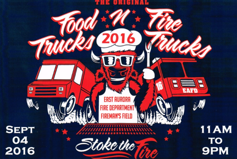 food trucks and fire trucks event to benefit east aurora fire department