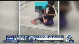 Middle School attack recorded on cell phone