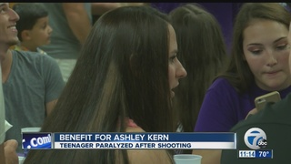 Fundraiser for victim of drive-by shooting