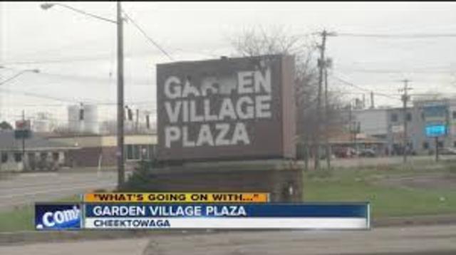 cheektowaga u0026 39 s garden village plaza to get a makeover