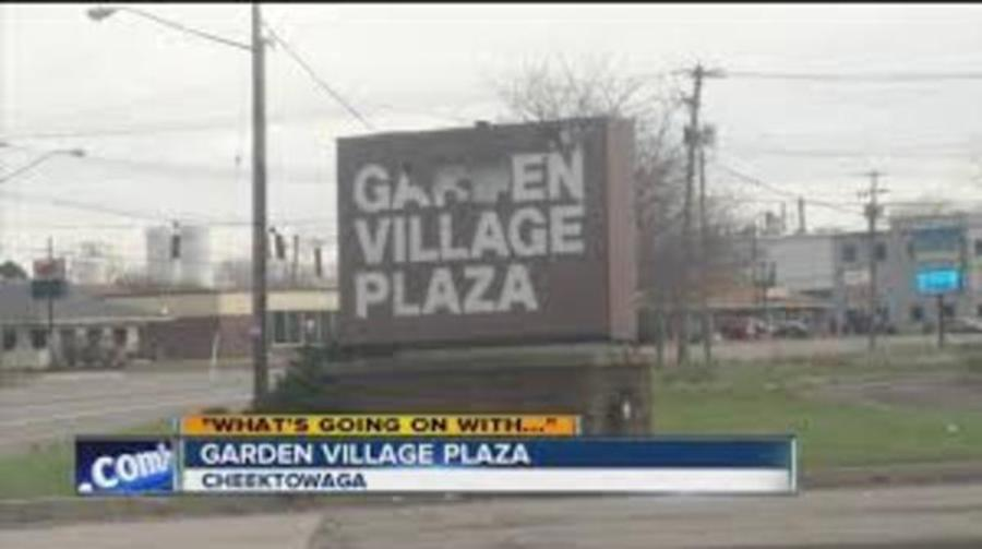 cheektowaga u0026 39 s garden village plaza to get a makeover