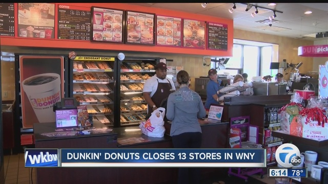 dunkin 39 donuts closes 13 sites in buffalo area buffalo ny. Black Bedroom Furniture Sets. Home Design Ideas