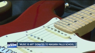 Music is Art donates 20 instruments to NF school