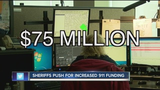 Push for fair share of 911 funding statewide