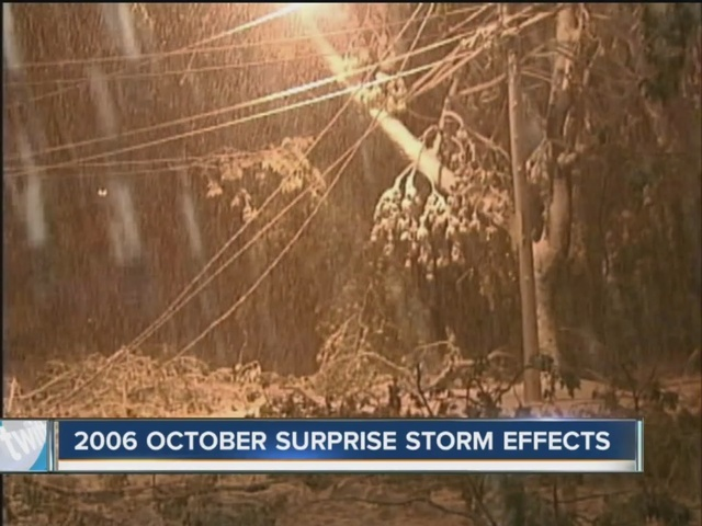 10 years ago  october surprise snow storm was forming