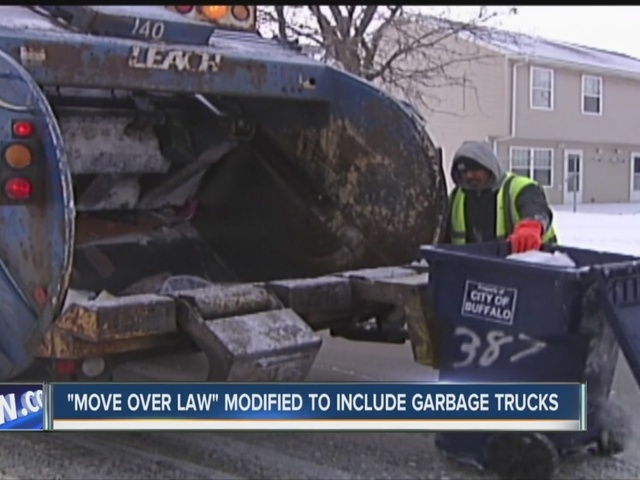 u0026quot move over u0026quot  law expands to cover garbage trucks