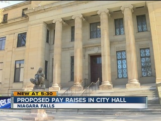 Mayor proposing raises for city hall employees