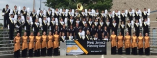 West Seneca West marching band state champs