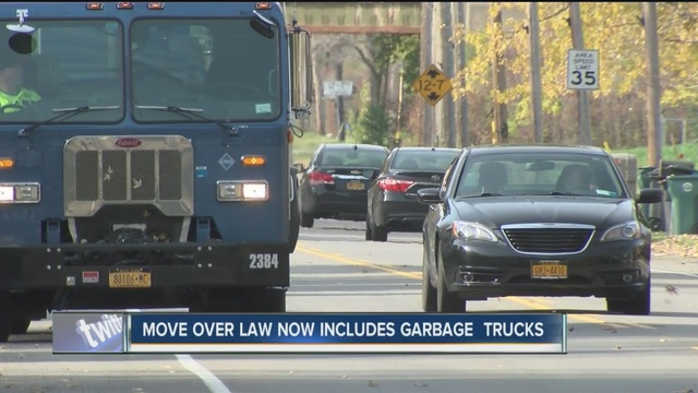 new york  u0026 39 move over u0026 39  law now includes sanitation vehicles