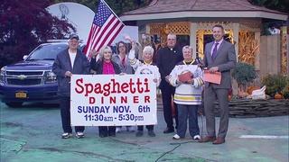 Spaghetti Dinner this Sunday