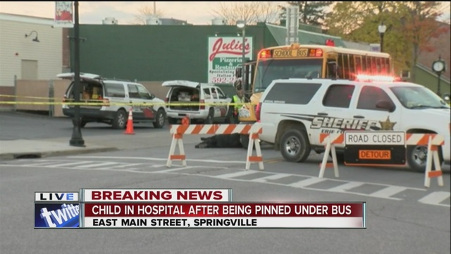 young girl dies after being hit by school bus