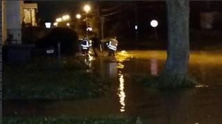 Large water main break in Buffalo