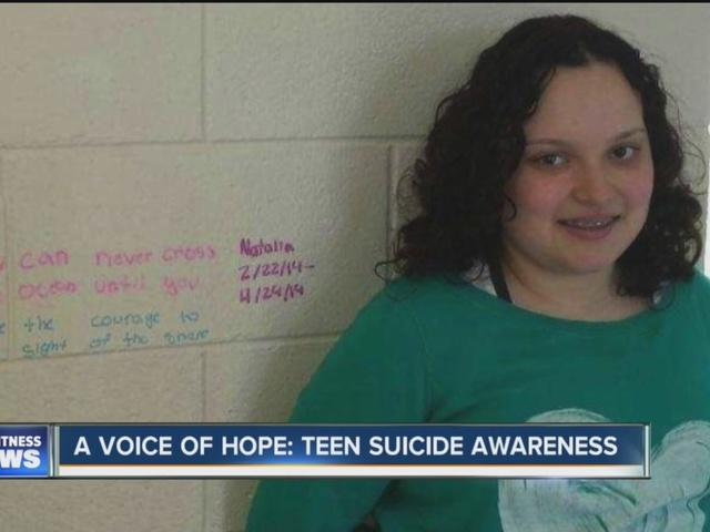 a voice of hope  talking about teen suicide