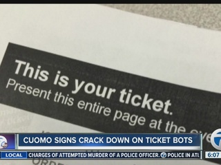 NYS cracks down on ticket bots