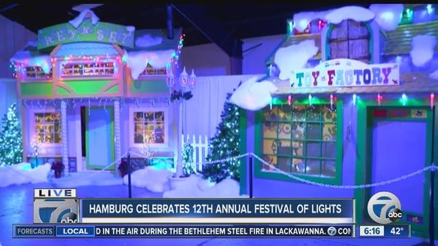 hamburg celebrates 12th annual festival of lights
