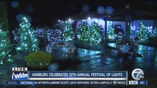 Hamburg celebrates annual Festival of Lights