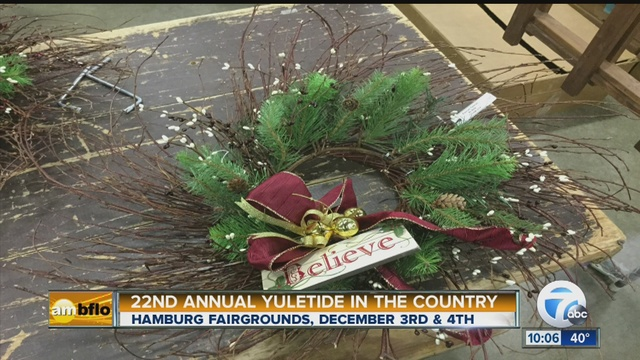 yuletide in the country hamburg fairgrounds - Christmas In The Country Hamburg Ny
