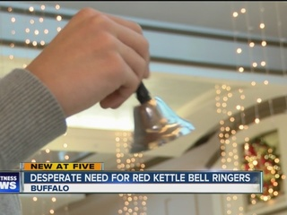 Salvation Army needs volunteer bell ringers