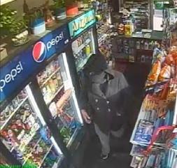 Wheatfield robbery suspect caught on camera