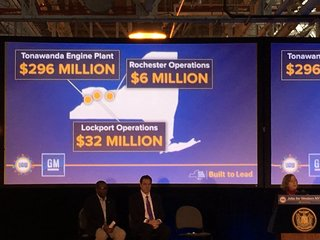$334 million to be invested in WNY GM plants