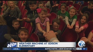 Andy Parker's Weather Machine Visits Thomas...