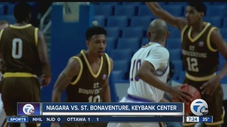 Jaylen Adams powers Bona past Niagara 79-69
