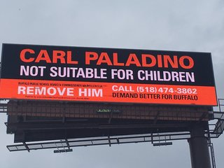 Anti-Paladino Billboard goes up on the 33