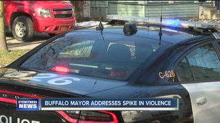 Buffalo Mayor responds to 'spike in violence'