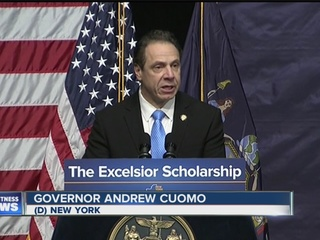Cuomo's budget plan: free tuition, tax relief