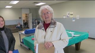 Dedicated Meals On Wheels volunteer at age 90