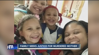 Family seeks justice for murdered mother