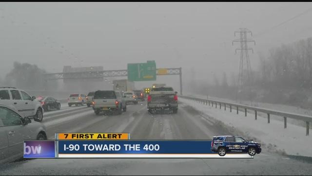 Travel Advisories In WNY Due To Heavy Snowfall WKBWcom Buffalo NY - Doppler radar buffalo new york
