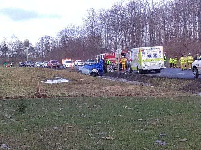Crews Respond To Crash With Commercial Bus Wkbw Com Buffalo Ny