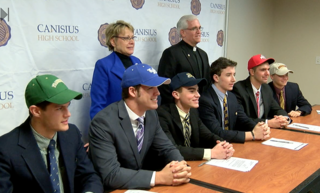 Six Canisius athletes sign letters of intent