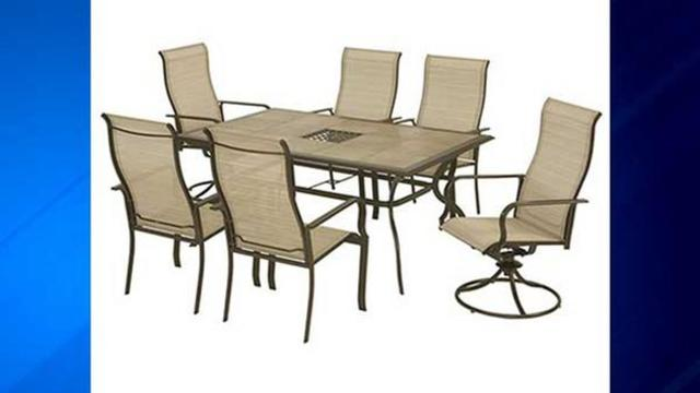 Two Million Patio Chairs Sold At Home Depot Recalled After Reports Of Breaking