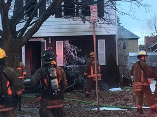 Woman taken to hospital after house fire Thurs