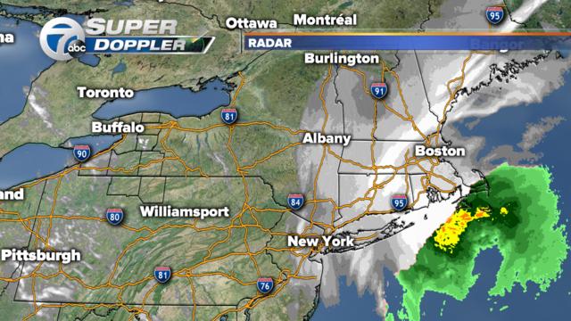 East Coast Storm Stacking Up Snow In New York City WKBWcom - Doppler radar buffalo new york