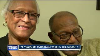 Lancaster couple married for 74 years