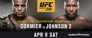 UFC details match card for Buffalo event